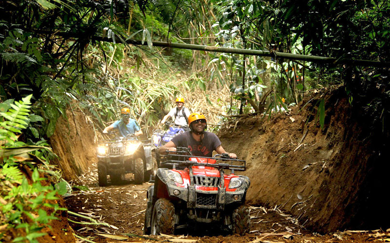 Bali ATV Ride through Cave, Waterfall, and River 40% OFF